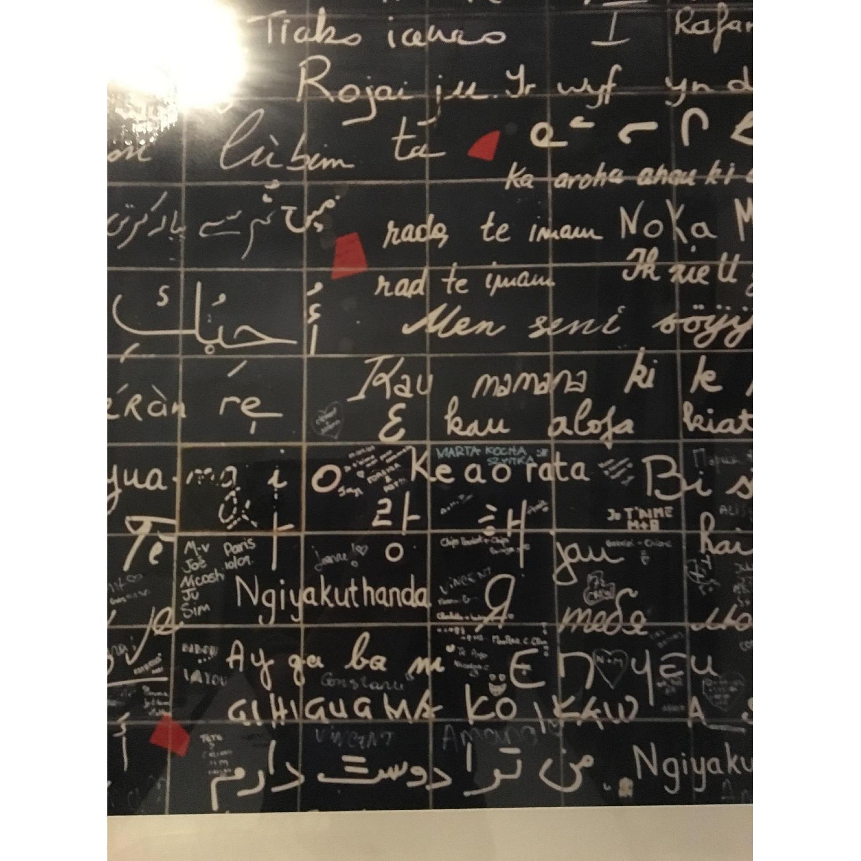 One King's Lane - J'taime Paris Love Wall Photograph - image-2