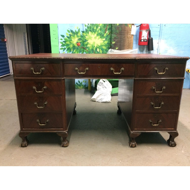 Mahogany Early 19th Century Desk - image-1