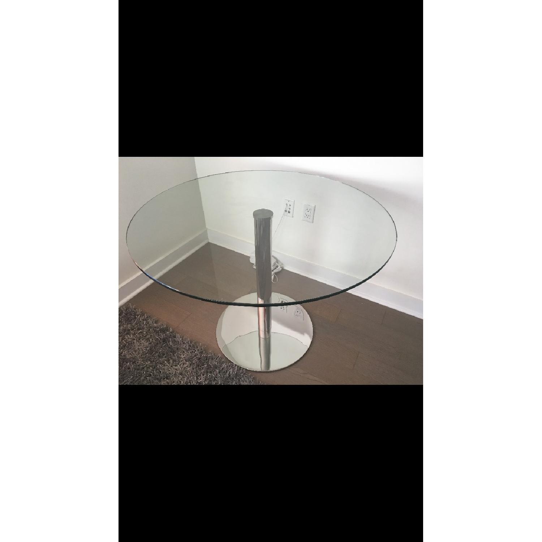 Modani Round Glass Dining Table - image-3