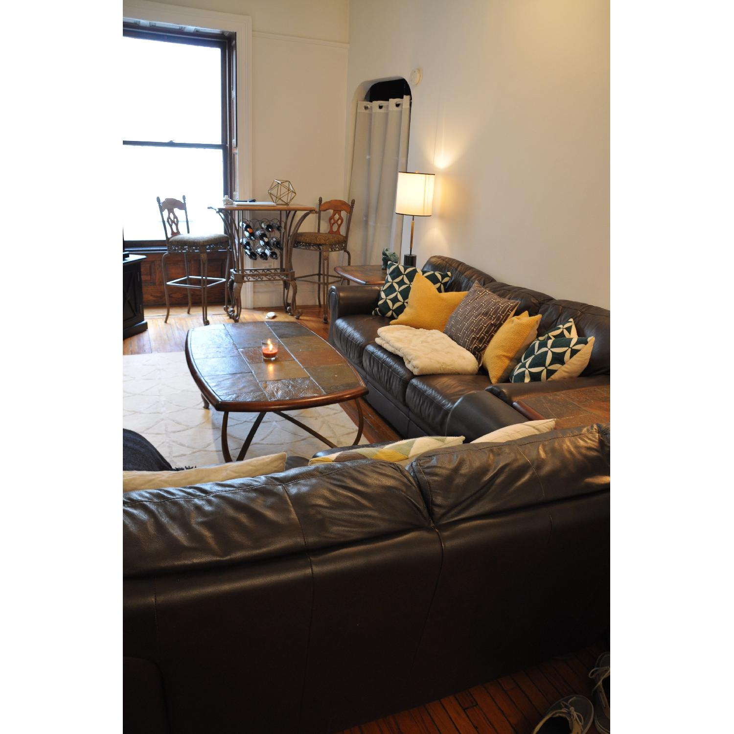 Coffee Table + 2 End Tables - image-1