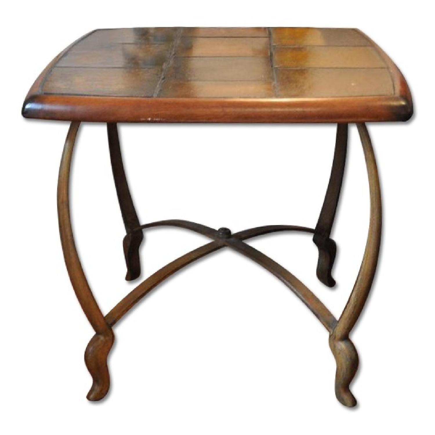 Coffee Table + 2 End Tables - image-0