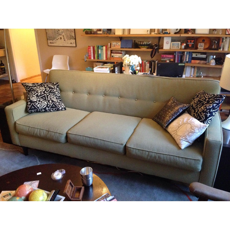 Macy\'s Kady Green Sofa