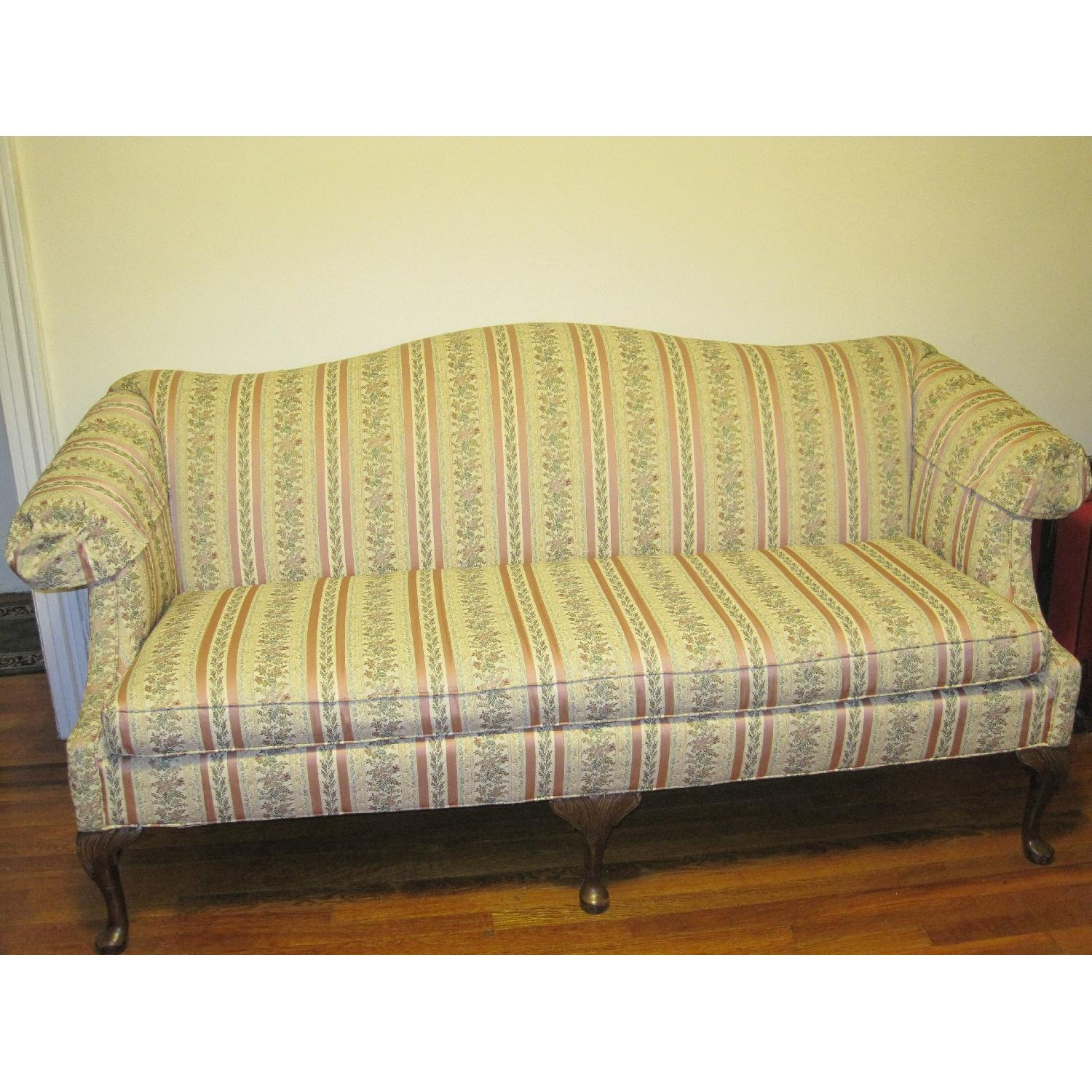 ... Clayton Marcus Huffman Koos Queen Anne Sofa And Loveseat 2 ...
