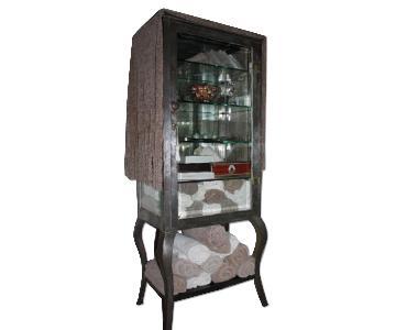 Antique Dentist Cabinet