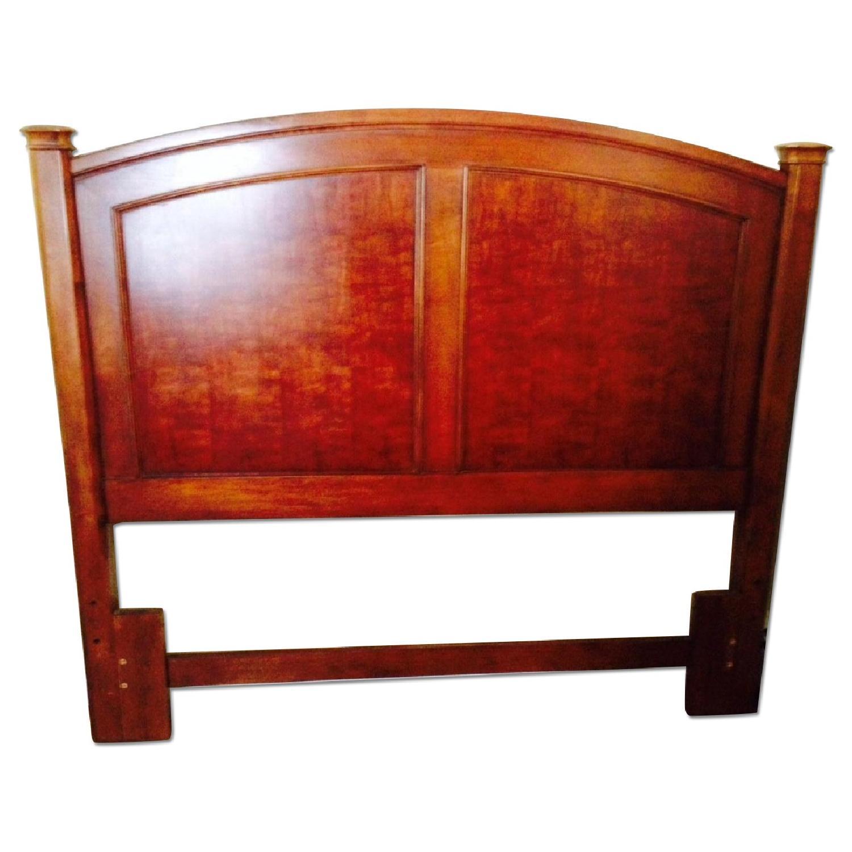 Thomasville Brown Wood Queen Size Headboard