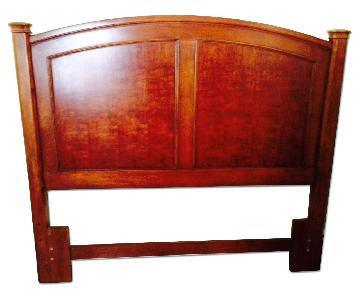 Thomasville Brown Wood Queen Size Headboard