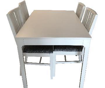 Ikea Extendable 5-Piece Dining Set