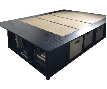 South Shore Full Size Storage Bed Frame