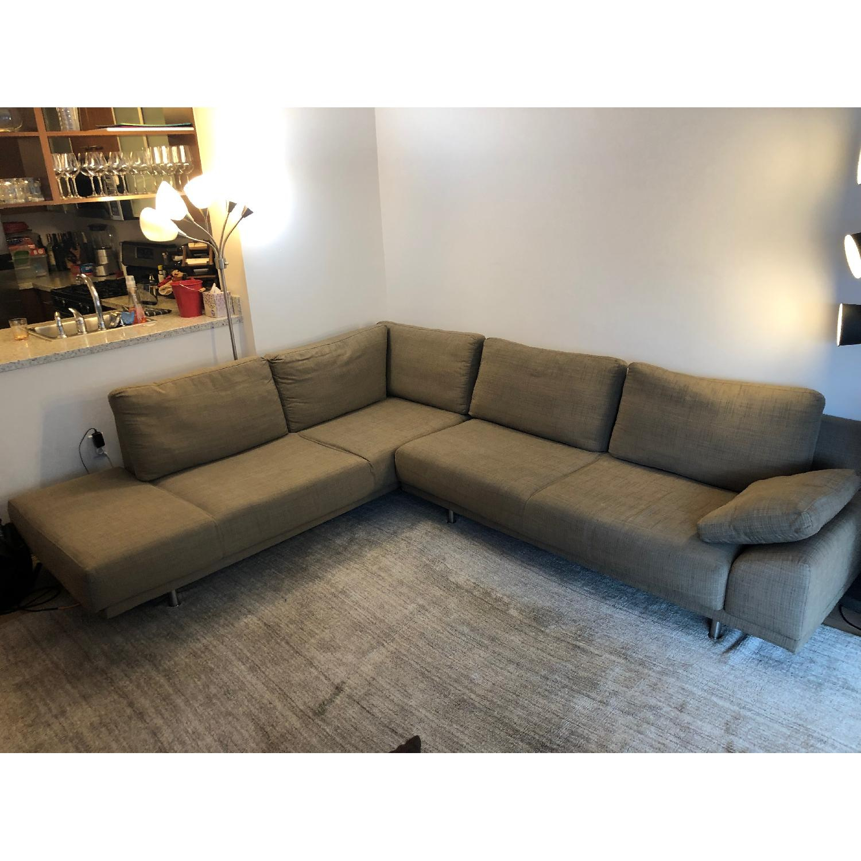 Marvelous Boconcept Indivi 2 Piece Sectional Sofa Aptdeco Unemploymentrelief Wooden Chair Designs For Living Room Unemploymentrelieforg
