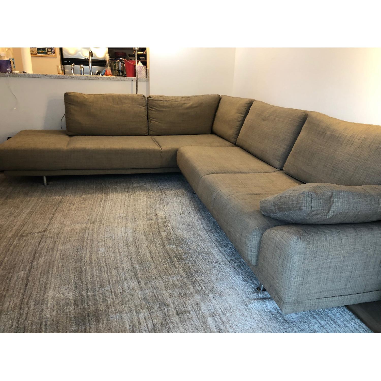 Admirable Boconcept Indivi 2 Piece Sectional Sofa Aptdeco Unemploymentrelief Wooden Chair Designs For Living Room Unemploymentrelieforg