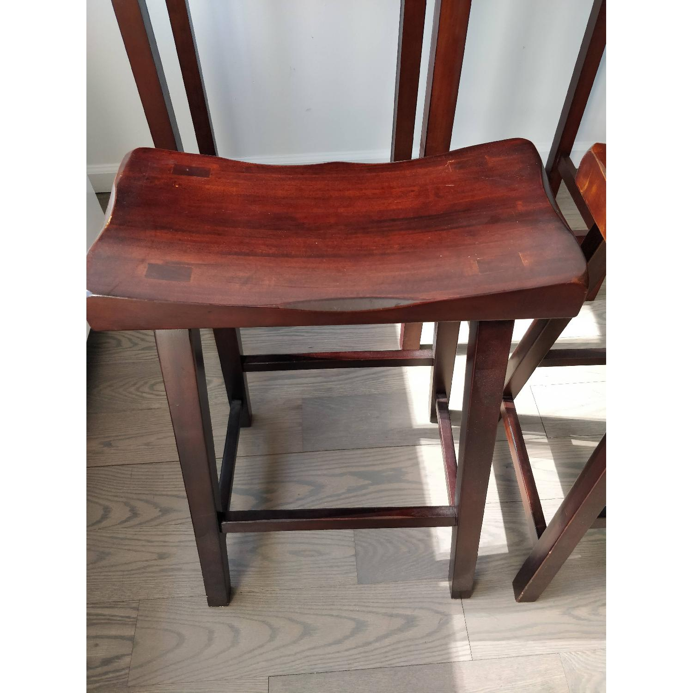 Winsome Wood Lynnwood Drop Leaf High Table w/ 2 Stools-2