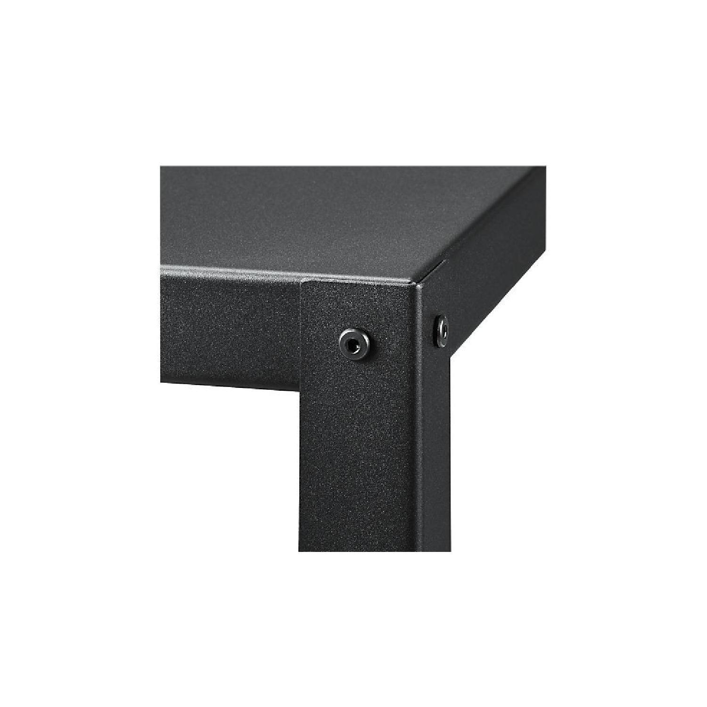 CB2 Go-Cart 5 Shelf Rolling Bookcase-2