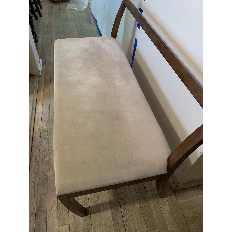Wood Hallway Bench-2