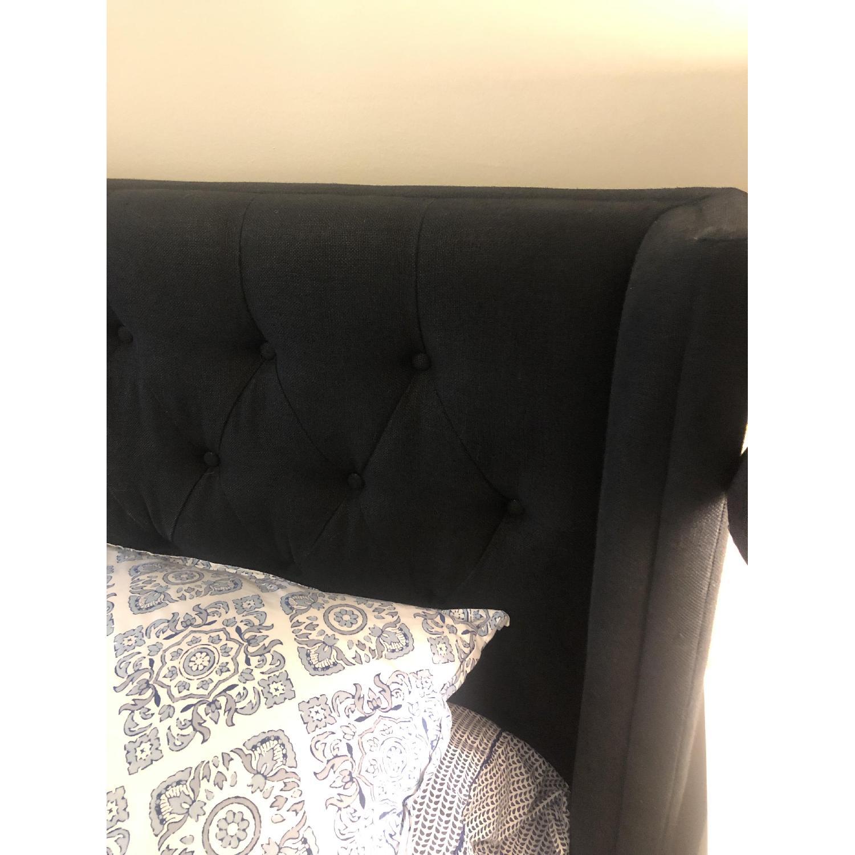 Restoration Hardware Adler Tufted Fabric King Bed-2