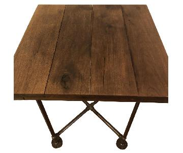 BK Flea Reclaimed Wood Small Dining Table
