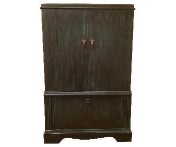 3-Door Wood Standing Cabinet