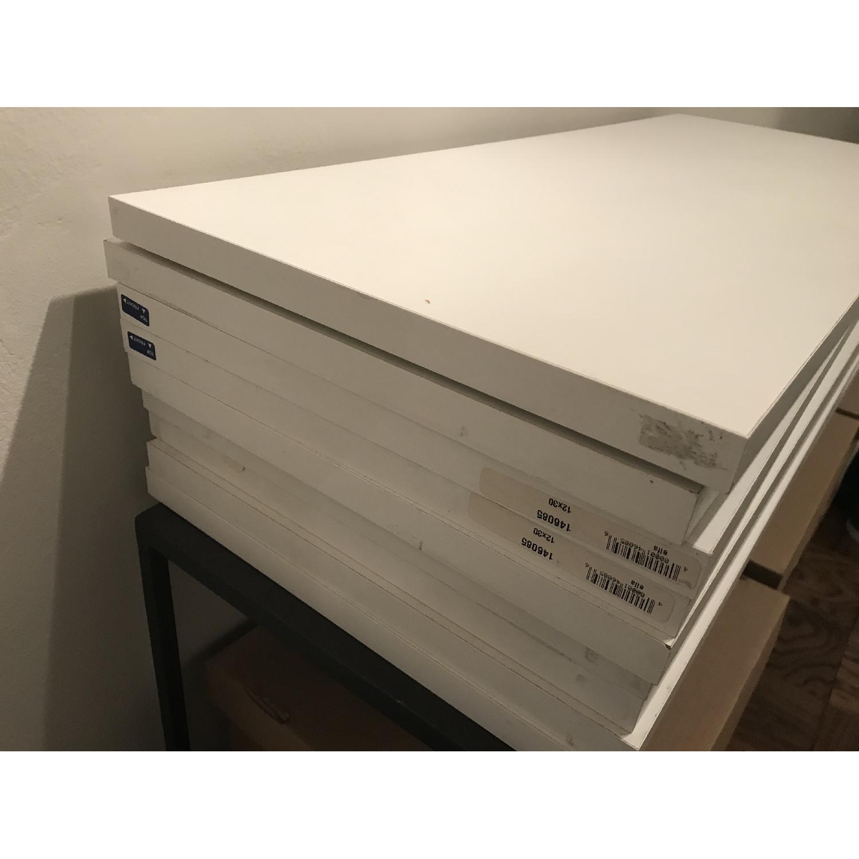 Elfa Desk w/ Cabinet & Shelves-10