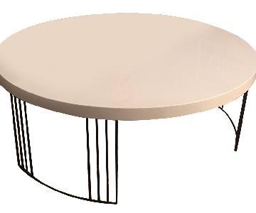 Circular Modern Coffee Table