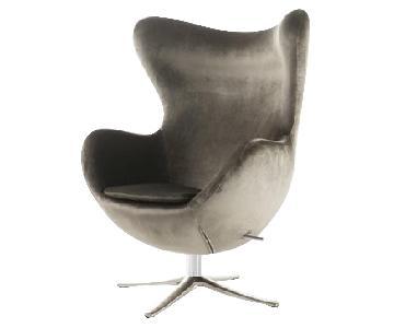 Brayden Studio Fleischman Swivel Balloon Chair