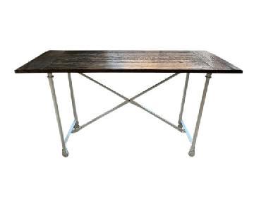 Restoration Hardware Flatiron Bar Table