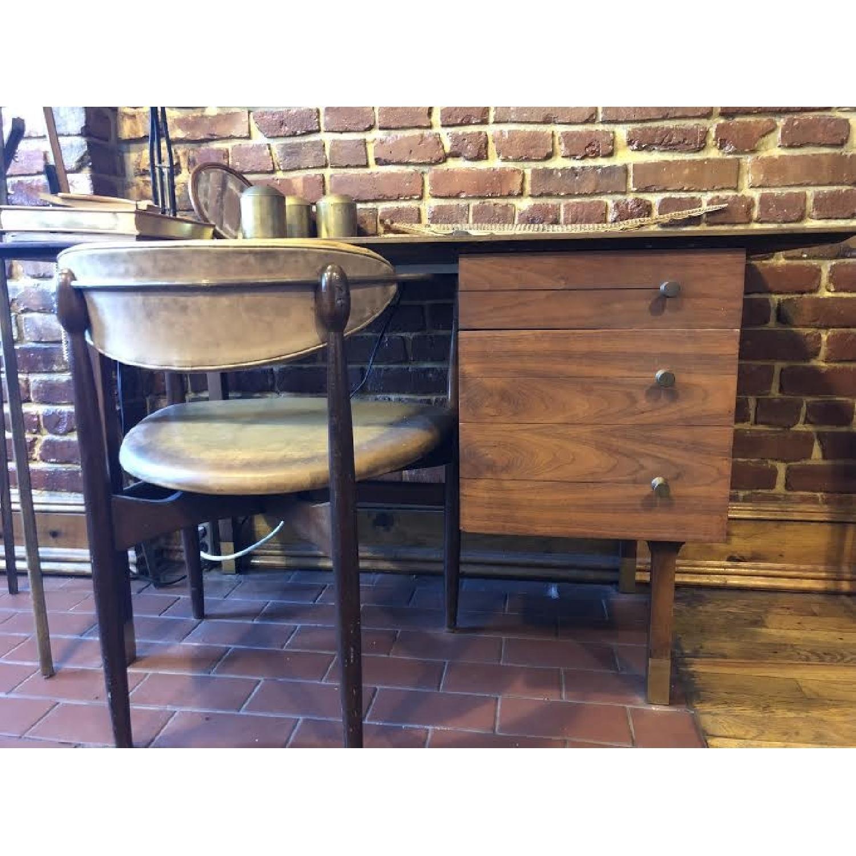 Vintage Wood Desk-0