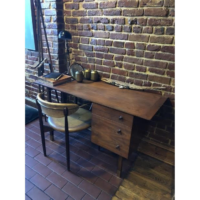 Vintage Wood Desk-1