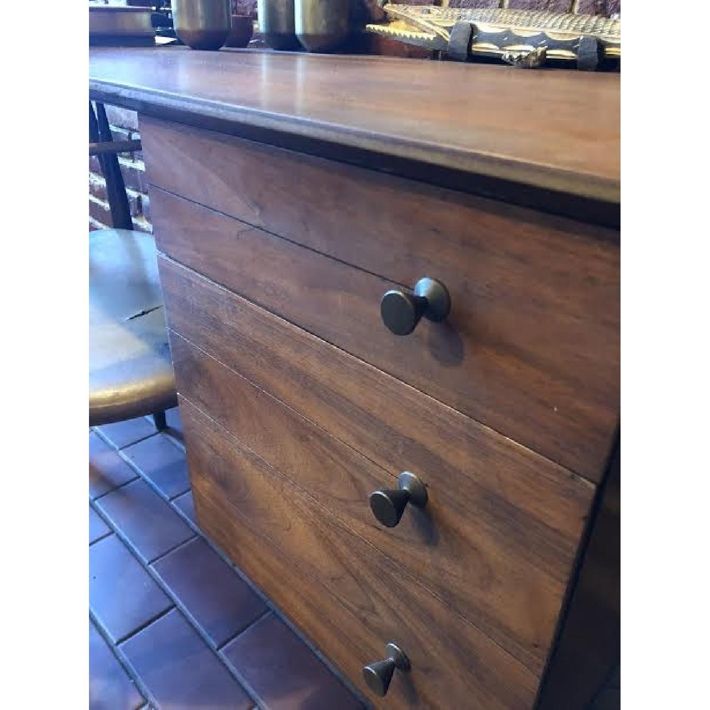 Vintage Wood Desk-2