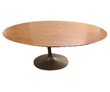 Vintage Saarinen Oval Tulip Table