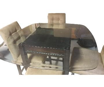 Ashley 5 Piece Counter Height Dining Set