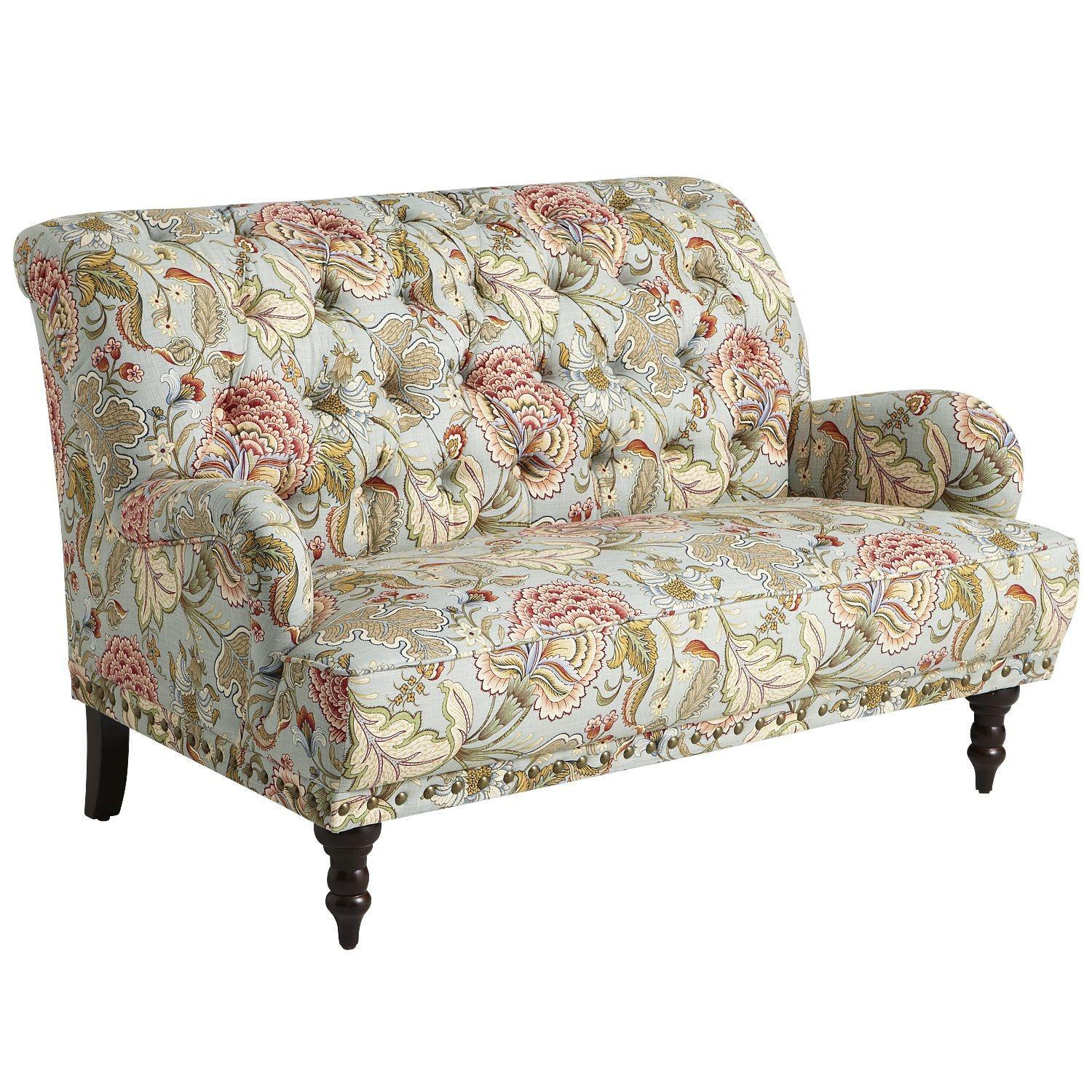 Pier 1 Chas Floral Loveseat