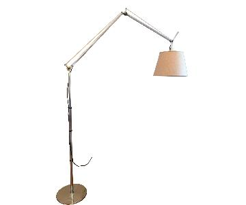 Tolomeo Mega Floor Lamp w/ Custom Natural Shade