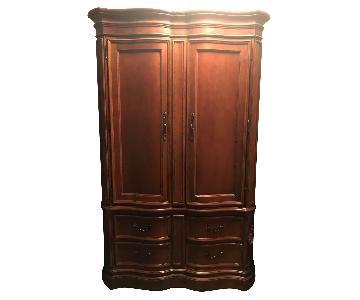 Bernhardt Wood Armoire