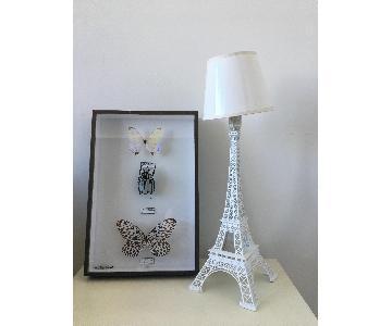Lampe Ascete Paris je t'aime in White