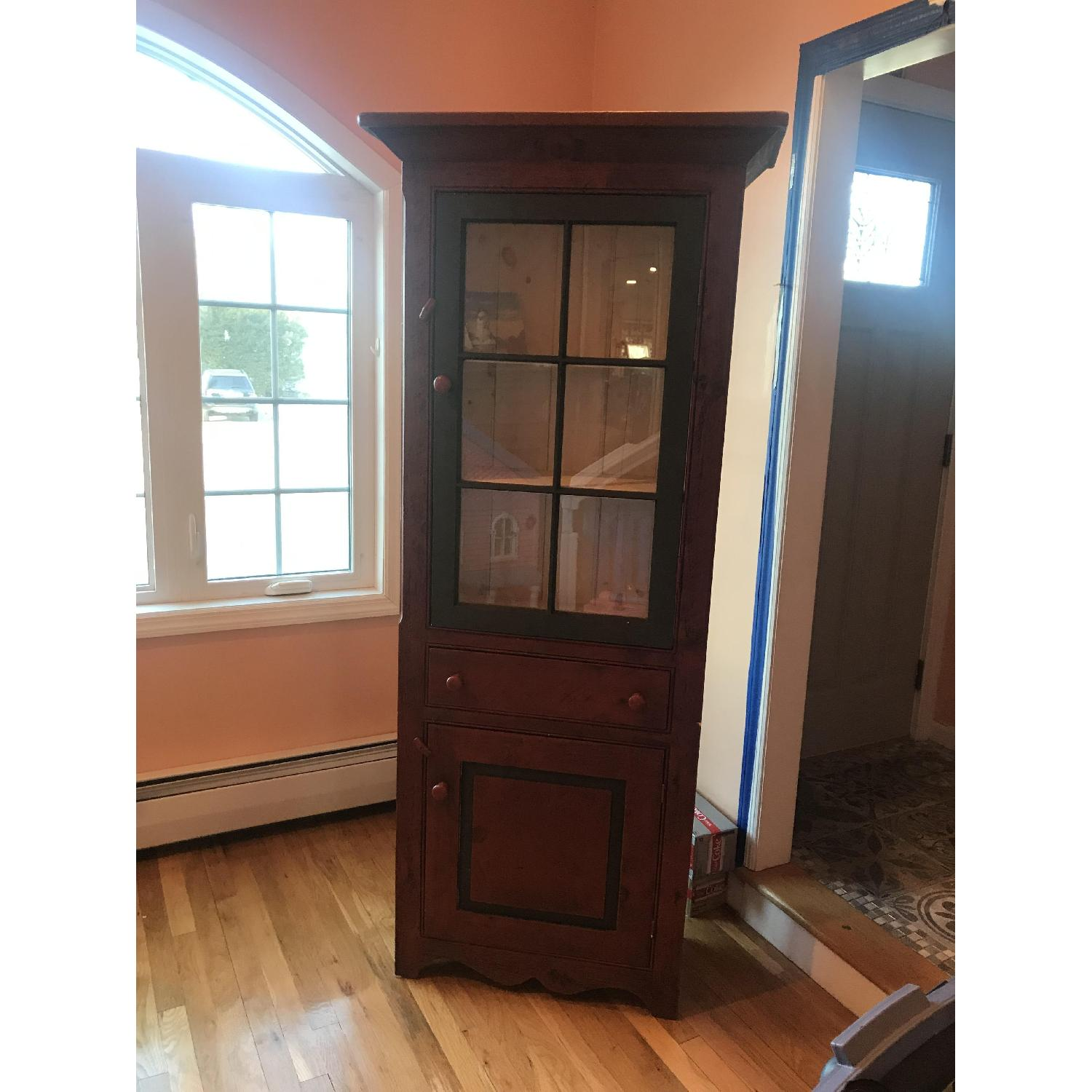 Amish Made Cabinet w/ Storage - image-1