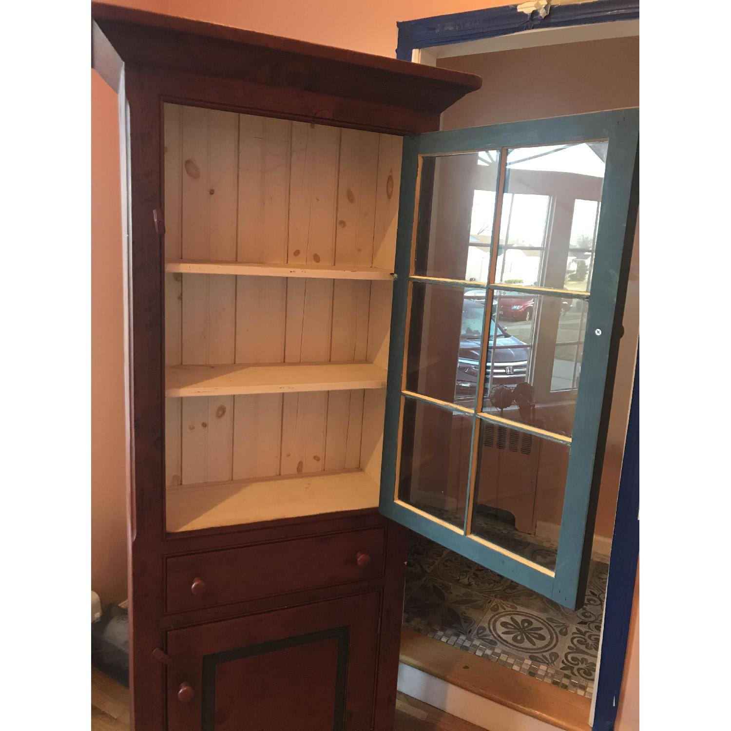 Amish Made Cabinet w/ Storage - image-2