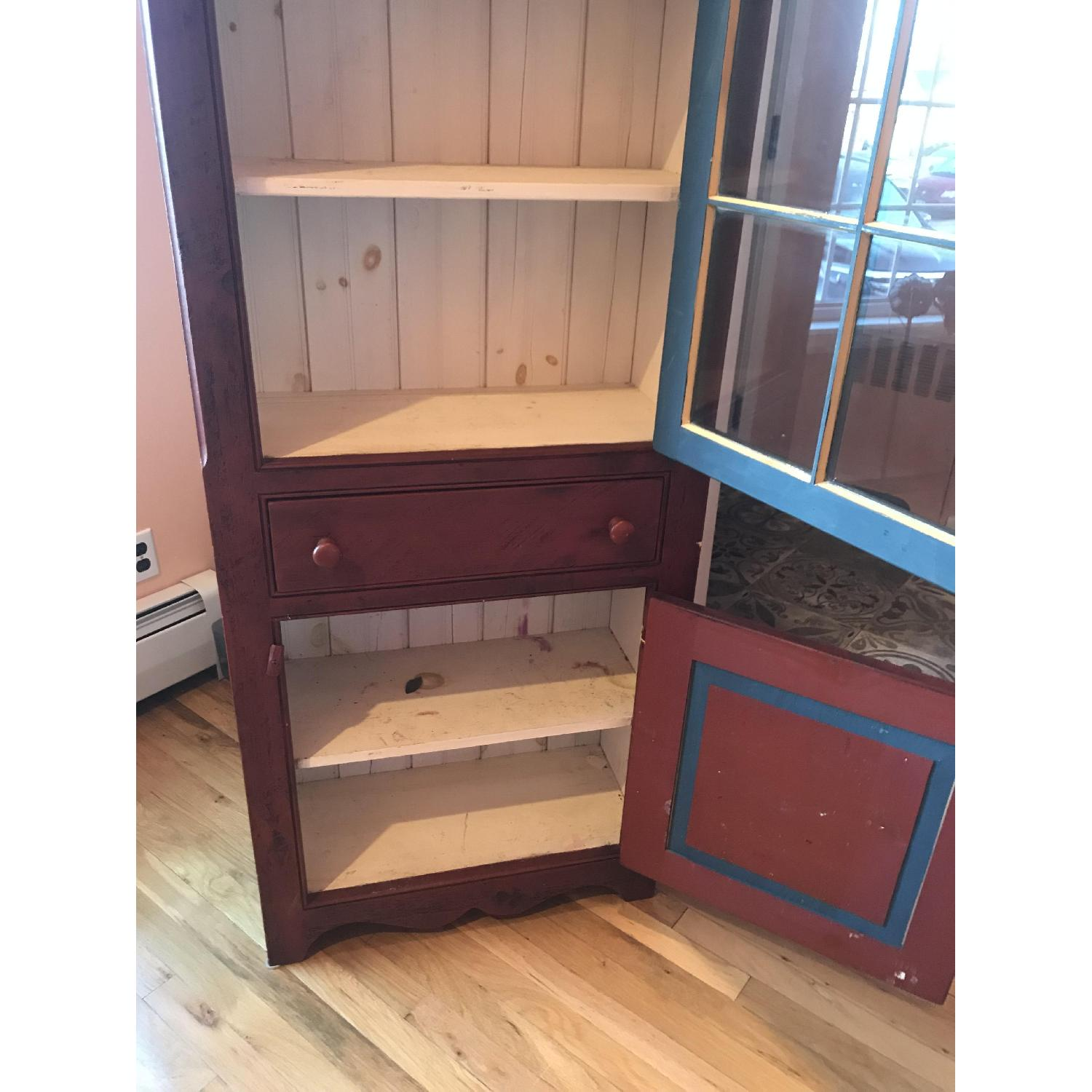 Amish Made Cabinet w/ Storage - image-3