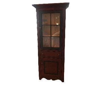Amish Made Cabinet w/ Storage