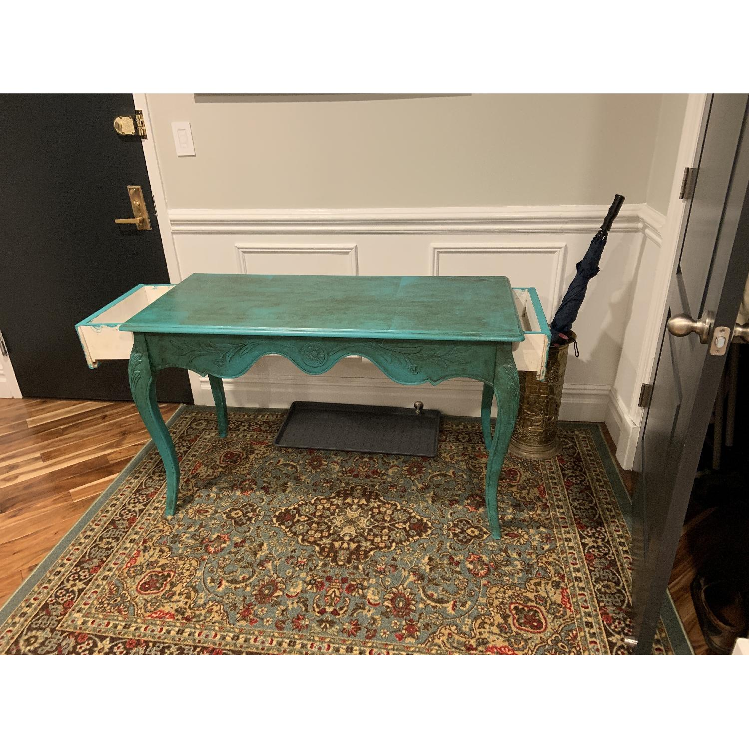 Vintage French Desk/Console/Entry Table-0