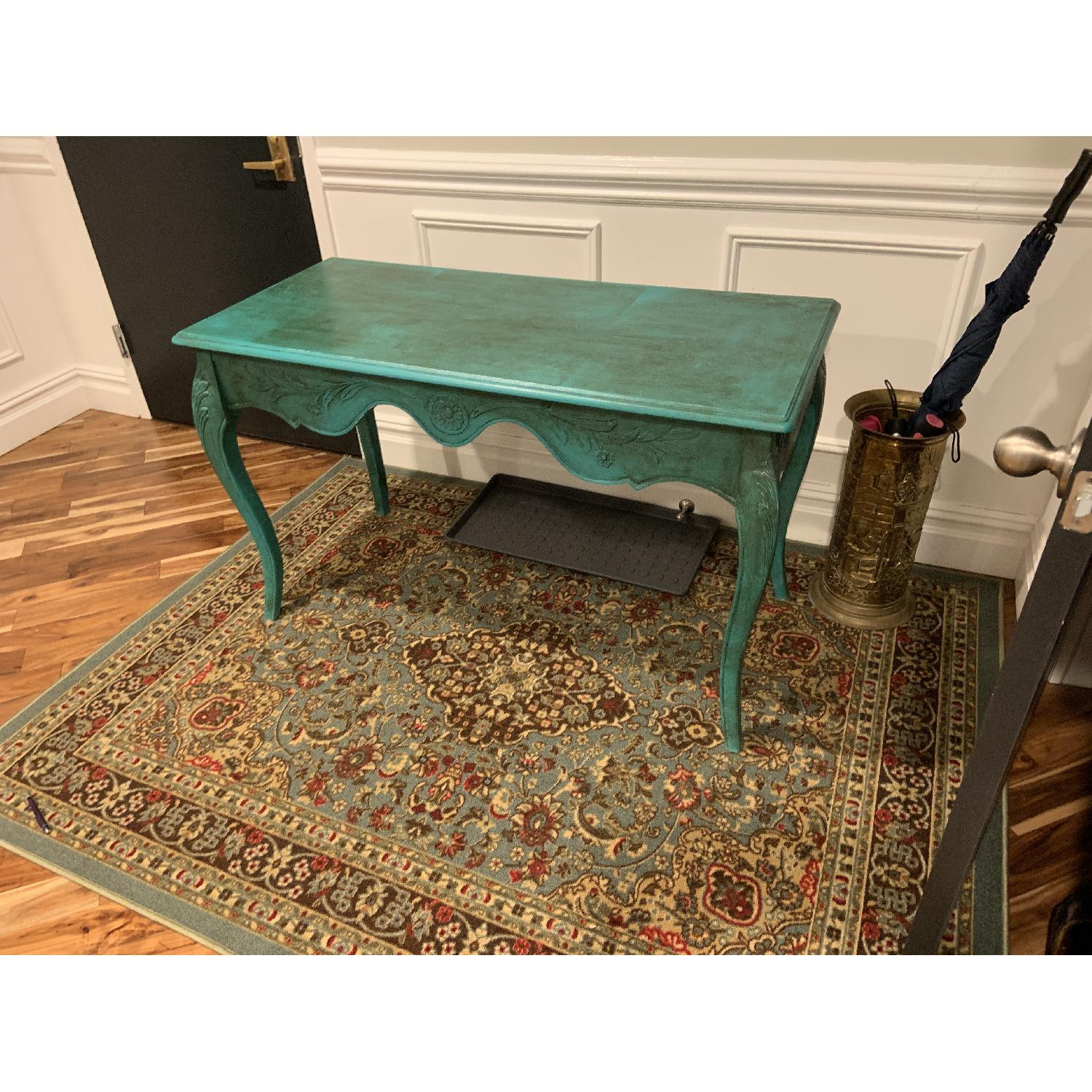 Vintage French Desk/Console/Entry Table-1