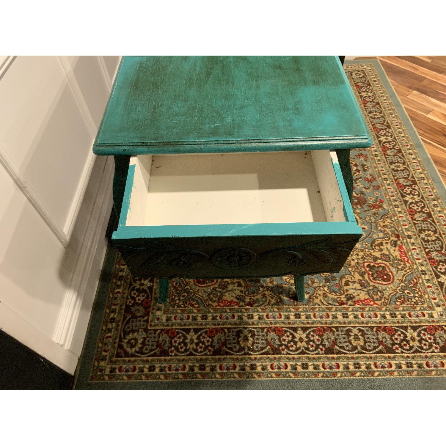 Vintage French Desk/Console/Entry Table-3