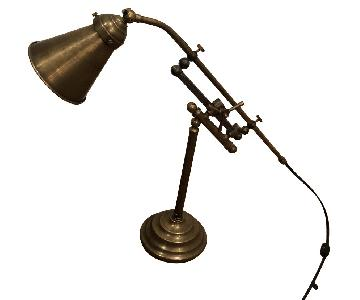 Restoration Hardware French Industrial Rail Task Table Lamp