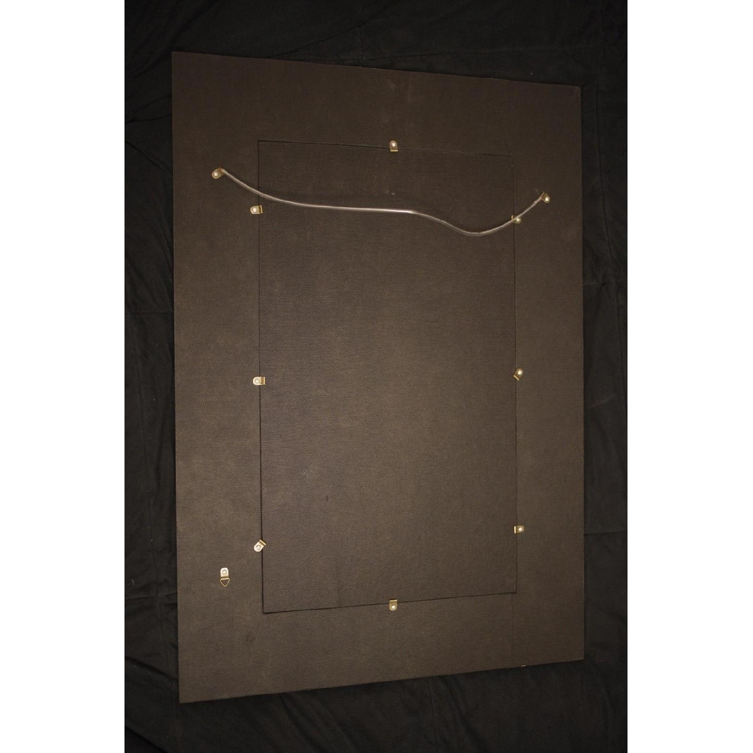 Ten Thousand Villages Gold Patterned Mirror-1