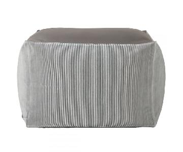 Muji Floor Cushion/Ottoman in Hickory Denim