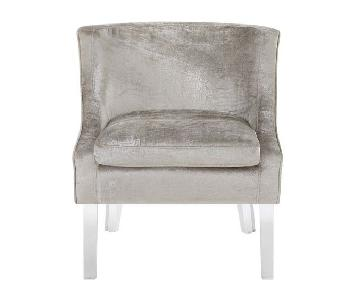 Willa Arlo Highworth Side Chairs in Champagne Beige