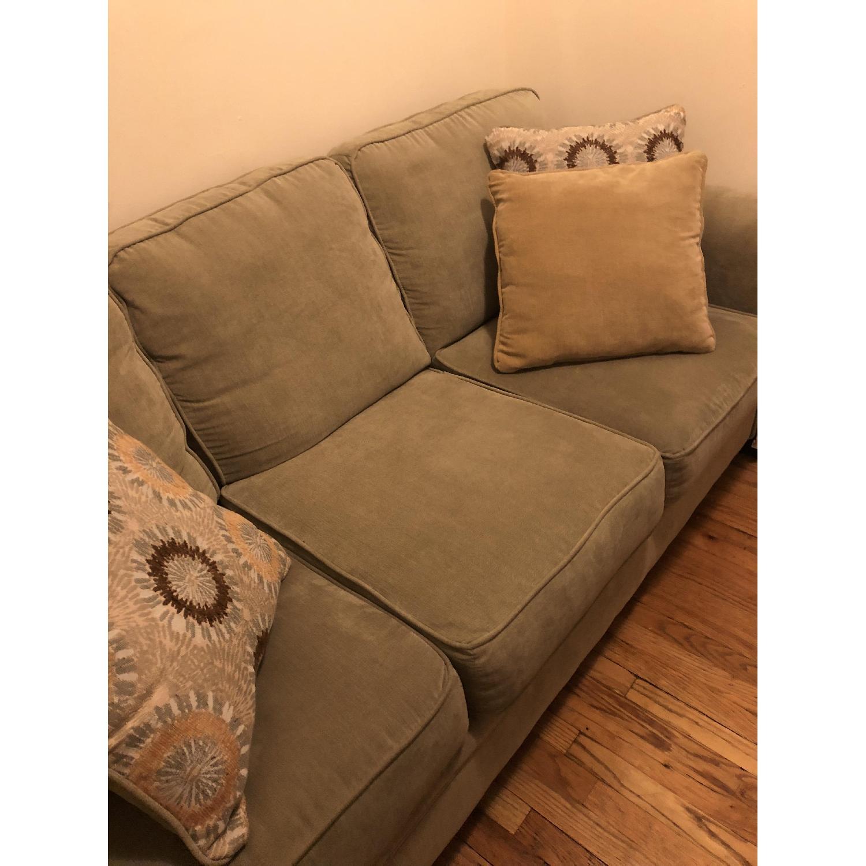 Serta Upholstery Suffield Light Green Sofa-1
