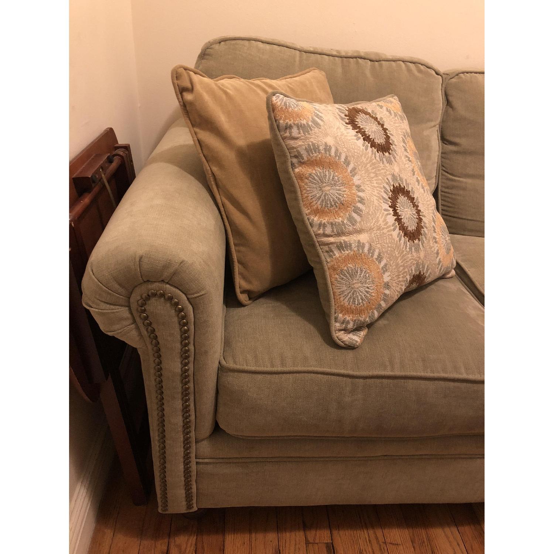 Serta Upholstery Suffield Light Green Sofa-2
