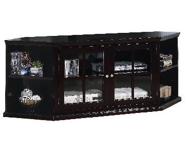 Espresso Corner TV Console