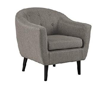 Ashley Signature Design Klorey Accent Chair in Grey