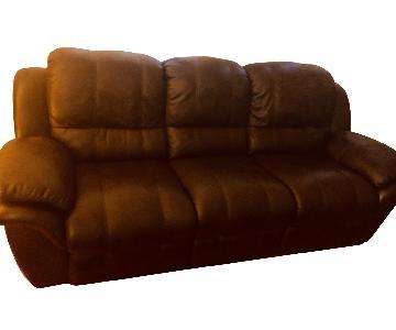 Bob's 3 Seater Recliner Sofa