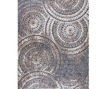 Home Decorator's Collection Spiral Medallion Gray Area Rug